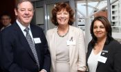 Richard Cookson (Garlicke & Bousfield ), Frances Chisholm (U.S. Consul General), Arthi Ramkissoon (MATCH)