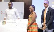U.S. Embassy Pretoria congratulates the winners of the 2016 GIST Startup Bootcamp's business pitch competition, Christian Mwijage and Elineca Ndowo and their social enterprise EcoAct Tanzania.