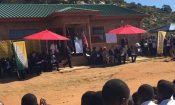 Ambassador Gaspard kicked off his visit on May 23 by attending a ribbon-cutting ceremony at the newly built Mamothalo Primary School.