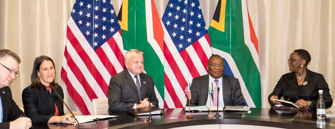 Deputy Secretary Sullivan Travels to South Africa and Angola